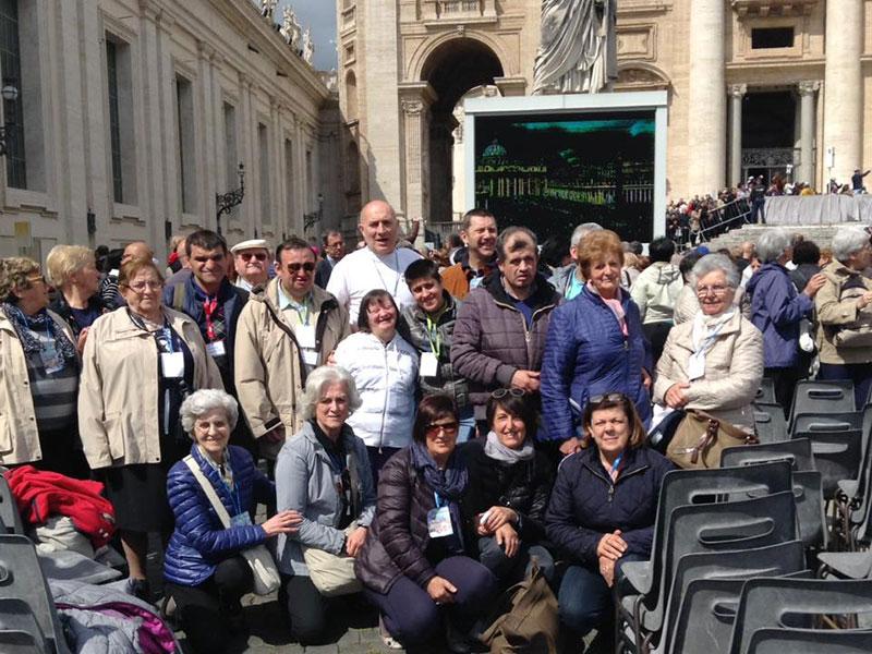 Anffas Valsesia - Pellegrinaggio a Roma